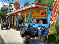 Las Terrenas Dominican Republic ATV Tours. ATV Adventures & Excursions from Las Terrenas DR.
