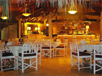 One of the Best Restaurants in Las Terrenas Dominican Republic. Chez Sandro Restaurant & Bar located near the beach of Playa Poppy in las Terrenas DR.