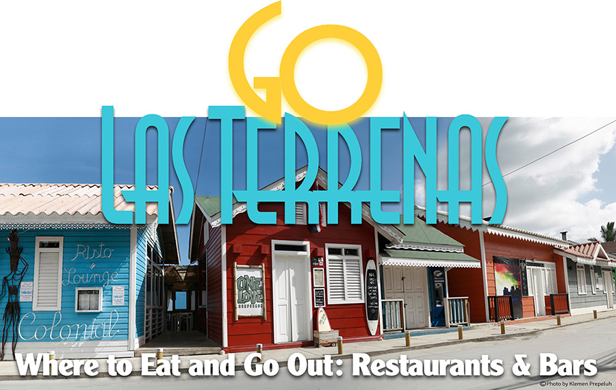 Restaurant Guide of Las Terrenas, Dominican Republic. Find all types of Restaurants : Seafood, Beach, French, Italian, Asian, Pizza, Spanish cuisine and more.