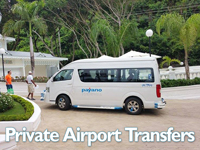 Taxi Service in Las Terrenas. Samana Airport Taxi & Private Transfers to Las Terrenas : GBP El Portillo Hotel and all other Hotels and Residences in Las Terrenas.